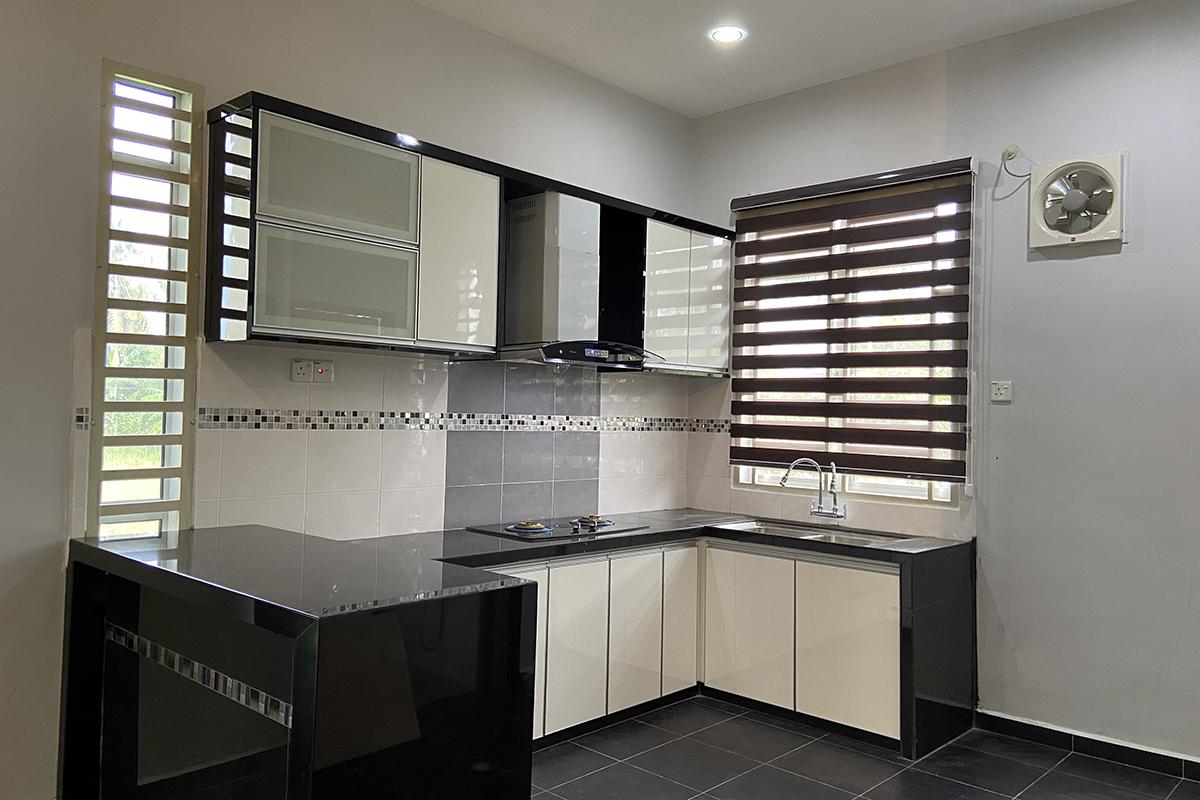 Kota Kuala Muda | Kabinet Dapur Moden Kontemporari