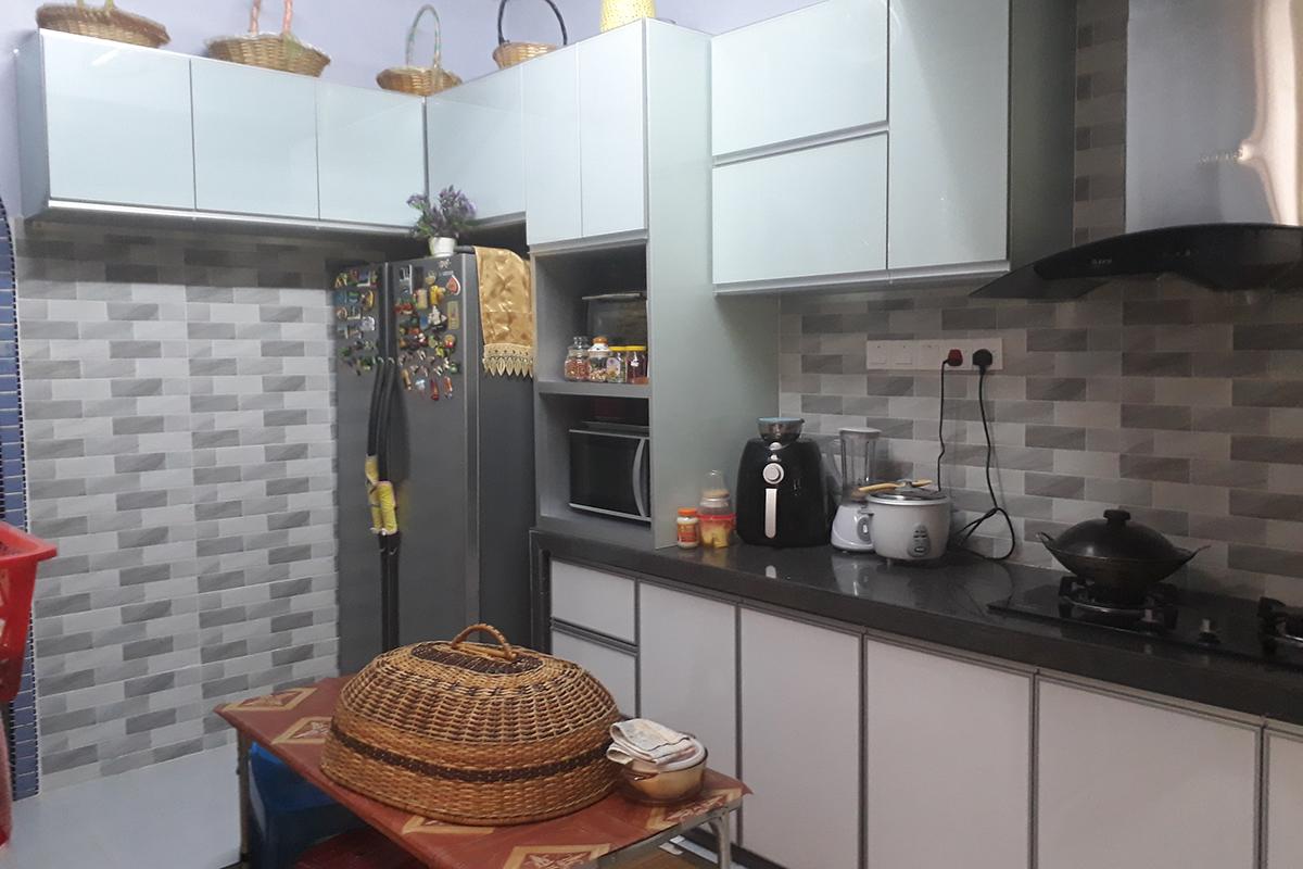 Taman Delima | Kabinet Dapur Moden Minimalis
