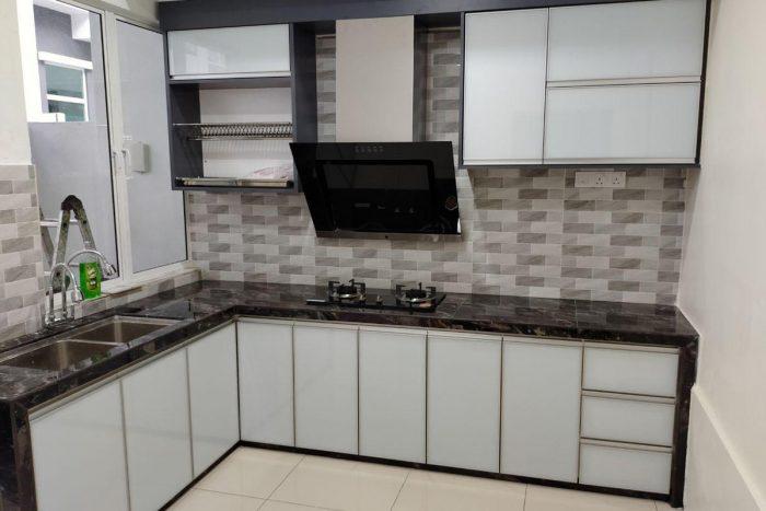 Galeri Kabinet Dapur Minimalis   Kitchen Cabinet Bintang Maya