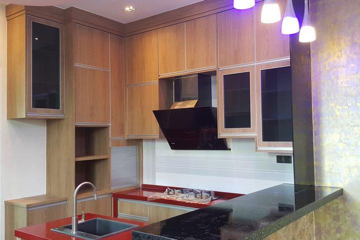 Galeri Kabinet Dapur Kontemporari | Kitchen Cabinet Taman Desa Bidara