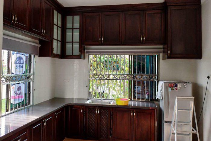 Galeri Kabinet Dapur Kontemporari | Kitchen Cabinet Taman Seraya